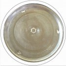 "Sharp Microwave Glass Cook Tray 15 1/2"" Star pattern center No. 30QBP0630 (Refurbished)"