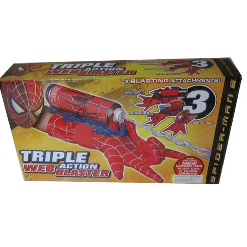 Spider-Man Triple Action Web Blaster (New In Stock)