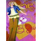 "Barbie Area Rug Plush Girl's Bedroom Large 2ft 11"" x 4ft 11"" (Me, Me, Me - B Girly) (New in Stock)"