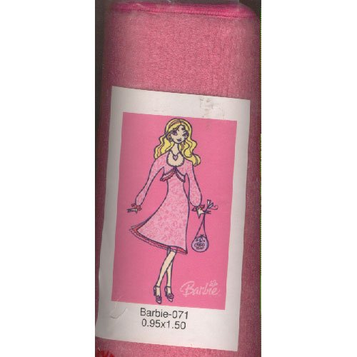 "Barbie Area Rug Girl's Bedroom 3ft 1"" x 4ft 11"" (Retro Barbie) No. 071 (New in Stock)"