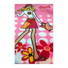 "Barbie Area Rug Girl's Bedroom 3ft 1"" x 4ft 4"" (Retro Flower Power Barbie) No. 105 (New in Stock)"