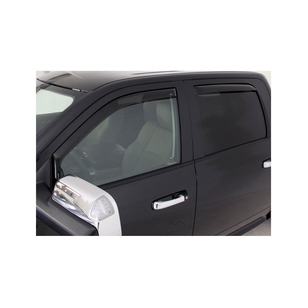 EGR 572651 Smoke In-Channel Window Visor for Dodge Ram 1500 2010 - 4 Piece