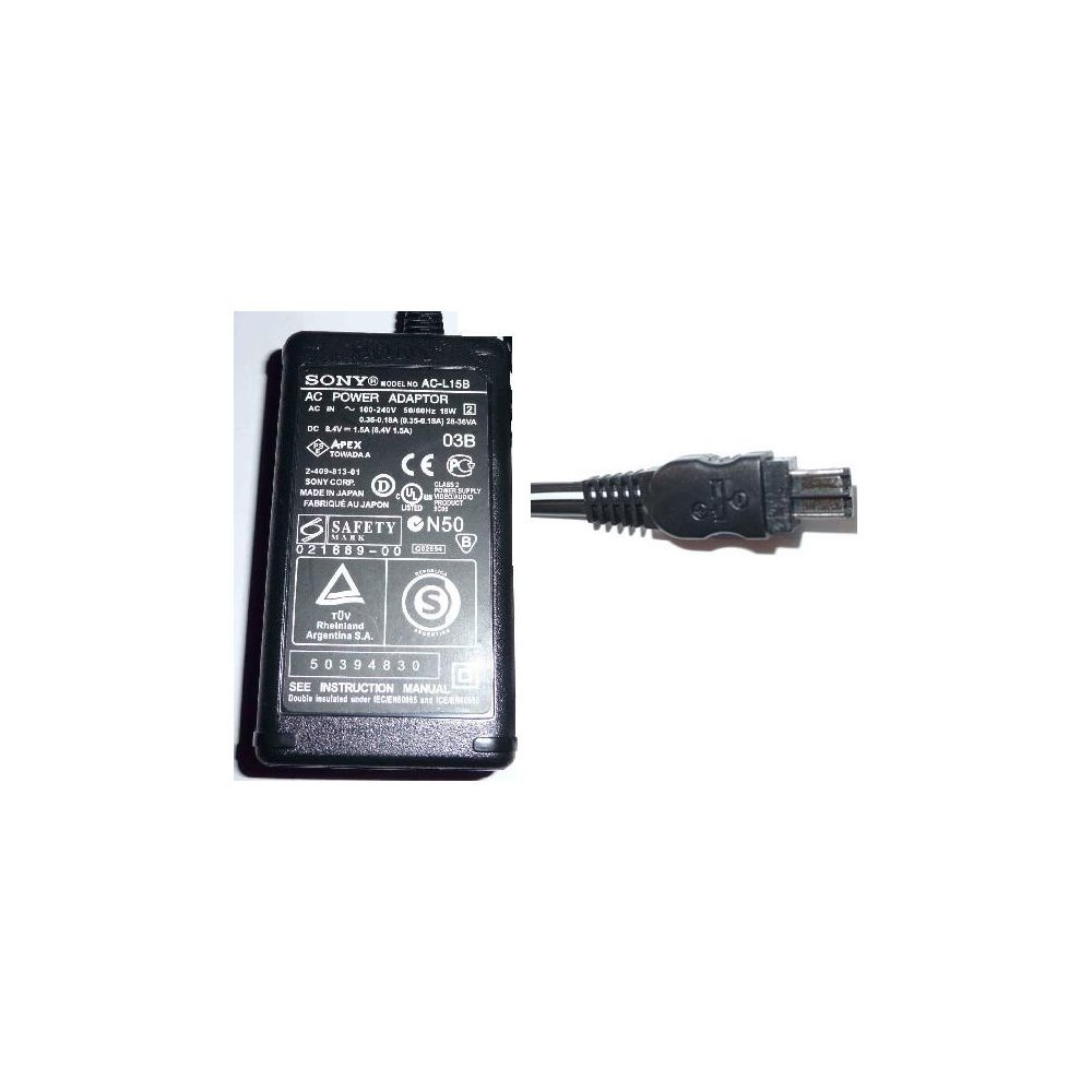 Sony Hi8 Camcorder AC Power Supply Adapter No. AC-L15B