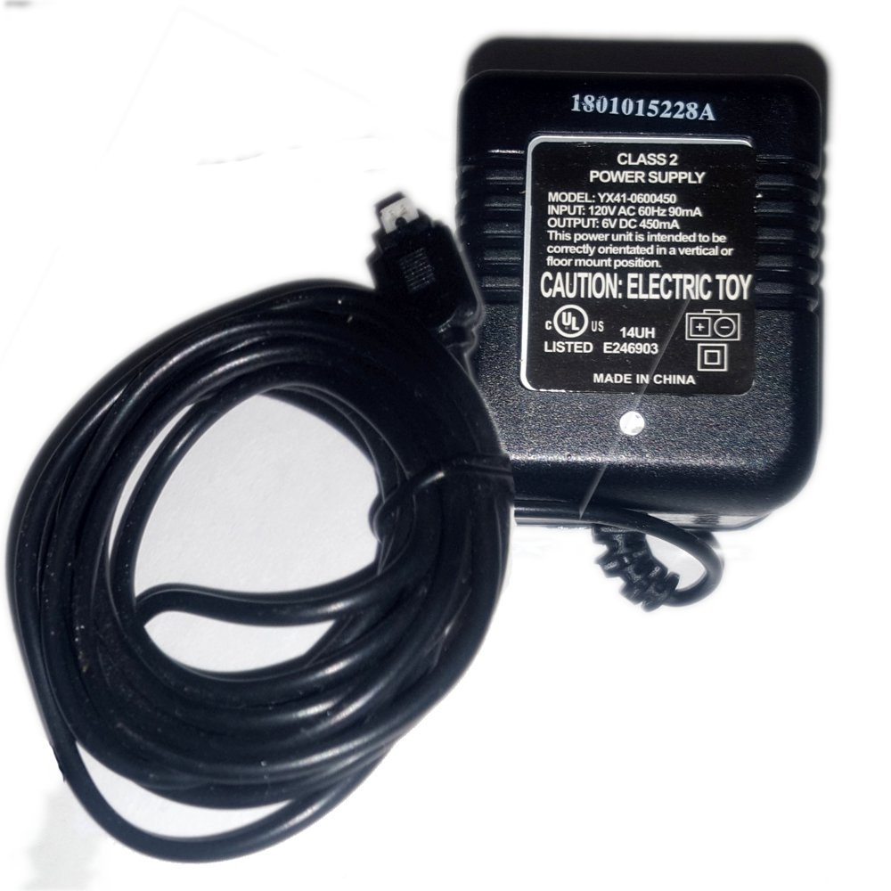 Syma Helicopter Battery Charger Adapter No. YX41-0600450 (New In Stock)