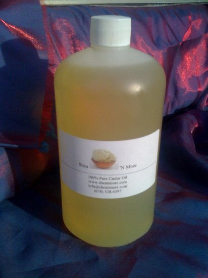 32 oz 100% Pure Castor Oil