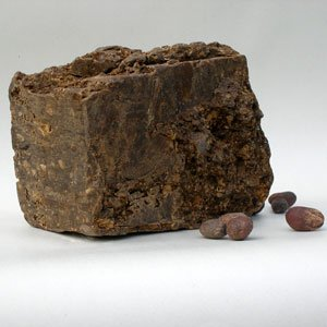 Raw African Black Soap, 1lb