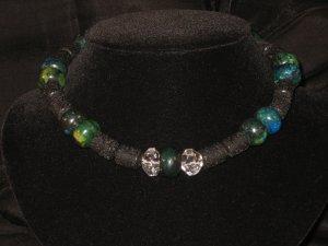 #7--Lava, Azurite, Crystal