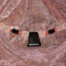 #21--Rose Quartz, Coral, Onyx