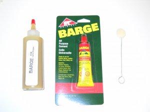 Four Ounce Bottle Barge  shoe Glue Cement