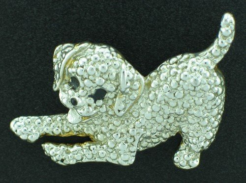 Playful Puppy Pin BRO2029