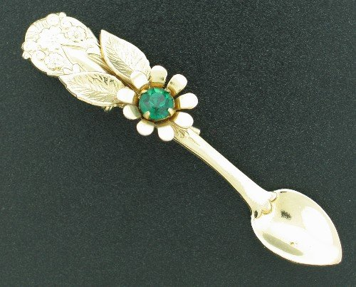 CORO Novelty Spoon Brooch BRO2151