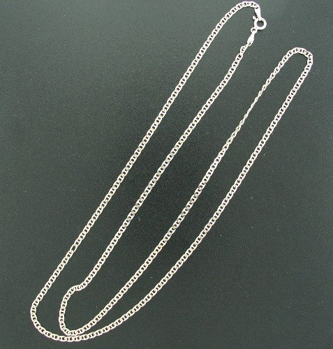 Signed Made in Italy 925 Thick Silver Chain Snec2016