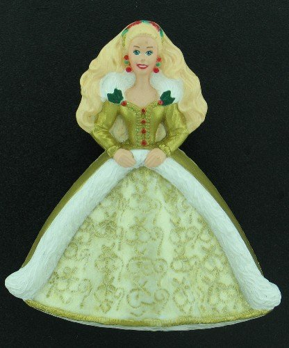 Hallmark Cards Inc 1996 Holiday Barbie Brooch Bro2155