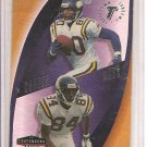 1998 Playoff Contenders Randy Moss/Cris Carter Touchdown Tandems