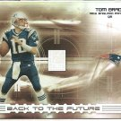 2003 Donruss Elite Tom Brady Back to the Future #/1000