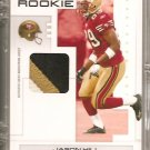 2007 Playoff Jason Hill Gold 3 Color Patch #8/10