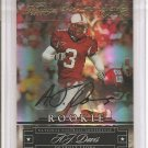 2007 Prestige AJ Davis Draft Pick Rights Auto RC #90/150