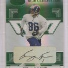 2006 Leaf Certified Dominique Byrd Mirror Emerald RC Auto #3/5