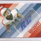 2008 Topps Anthony Morelli Performance Highlights RC Auto