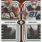 2008 Contenders Jerome Simpson/James Hardy Round Numbers #498/500