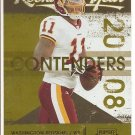 2008 Contenders Devin Thomas Rookie of the Year #15/100