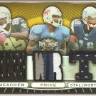 2007 Triple Threads Robert Meachem/Peerless Price/Donte Stallworth 5 Color Triple Patch #5/9