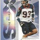 2004 SPX Jason Babin Rookie #1397/1650