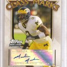 2005 Topps Draft Picks Marlin Jackson Class Marks Auto