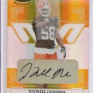 2006 Leaf Certified D'Qwell Jackson Mirror Gold Auto #13/25