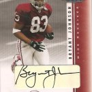 2003 Playoff Honors Bryant Johnson Rookie Auto #102/290