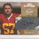 2007 Sage Decadence Ryan Kalil Auto #11/25