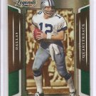 2008 Donruss Legends Roger Staubach Emerald #2/5