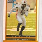 2003 Topps DP&P Andre Johnson Gold Chrome Refractor Rookie