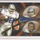 1997 Pacific Emmitt Smith/Troy Aikman/Michael Irvin Team Checklists