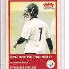 2004 Fleer Tradition Ben Roethlisberger Rookie
