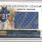 2007 Gridiron Gear Calvin Johnson Girdiron Gems Pull Out RC Auto #26/100