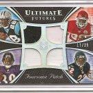 2008 Ultimate J. Stewart/R. Rice/ J. Charles/M. Forte Futures Quad Jersey #17/25