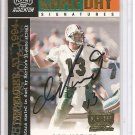 2000 Momentum Dan Marino Game Day Signatures Auto #59/75
