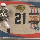 2005 Leaf Certified Corey Dillon FOTG 21st Cent. #12/21
