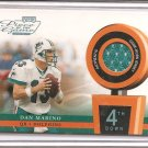 2002 Playoff POTG Dan Marino 4th Quarter Jersey #20/25