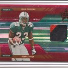 2005 LR&S Ronnie Brown 3 Color Patch Longevity Red Rookie #9/99