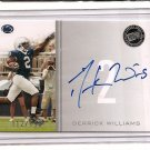 2009 Press Pass Derrick Williams Silver Auto #112/199