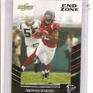 2007 Score Michael Jenkins End Zone #6/6