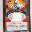 2008 National Treasures Edgerrin James College Materials Jersey #11/25