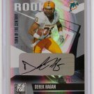 2006 Donruss Elite Derek Hagan TOTC Rookie Auto #6/100
