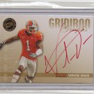 2009 Press Pass SE Vontae Davis Gridiron Graphs Red Ink Auto