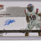 2007 Ultra Patrick Willis Signature Class Auto #31/250