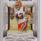 2009 Prestige Tony Fiammetta Xtra Points Rookie #2/10