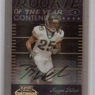 2007 Playoff Contenders Reggie Nelson ROY Auto #35/50