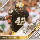 2009 UD Draft Anthony Heygood Silver Ink Rookie Auto